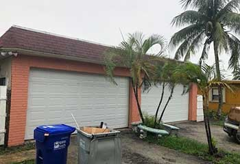 Garage Door Off Track Repair - Cypress